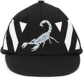 Off-White scorpion print cap