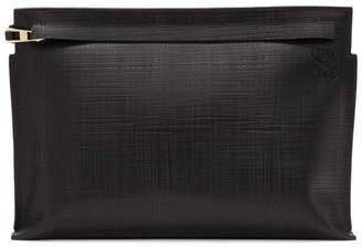 Loewe Black Linen T Pouch
