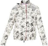 Moncler Gamme Rouge White Flower Print gobi Jacket