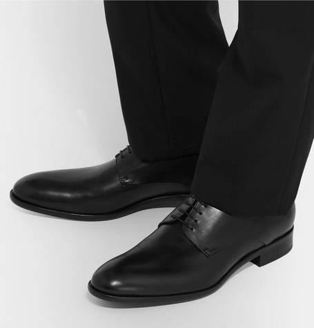 HUGO BOSS Bristol Leather Derby Shoes
