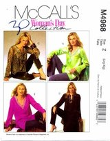 Mccall's 4968 Sewing Pattern Misses Tunics in Three Lengths Size 16 - 18 - 20 - 22