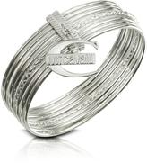 Just Cavalli Infinity - Logo Charm Stacked Bangle Bracelet