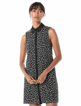 Betsey Johnson Women's Lace Dress Black/Ivory 2
