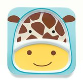Skip Hop Zoo Tableware, Divided Plate, Jules Giraffe
