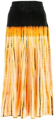 Proenza Schouler Tie-Dye Maxi Skirt