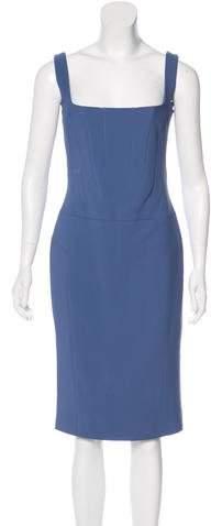 Antonio Berardi Sleeveless Midi Dress w/ Tags