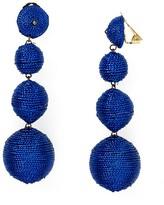 Kenneth Jay Lane Thread Ball Clip On Earrings
