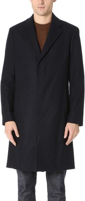 Theory Men's Wool Overcoat