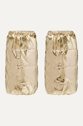 Cordova The Gstaad Padded Metallic Ski Gaiters