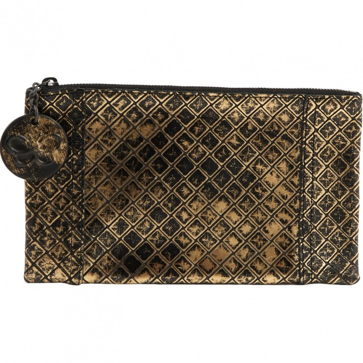 6a38923272bfb Bottega Veneta Gold Clutches - ShopStyle