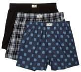 Lucky Brand Woven Boxers - Pack of 3 - Size Extra Large