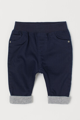 H&M Lined Pull-on Pants