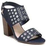 Fergalicious Jolene Denim Ankle-Strap Sandals