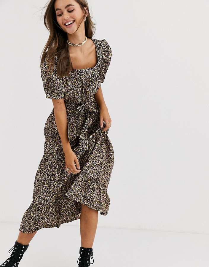 Free People Heartlands printed maxi dress