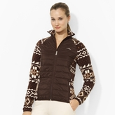 Ralph Lauren Fair Isle Fleece Jacket