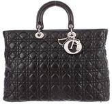 Christian Dior Large Lady Shopping Bag