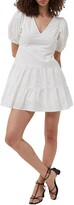 Thumbnail for your product : French Connection Cotton Puff-Sleeve Dress