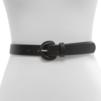 Women's Exact Fit Casual Covered Buckle Belt