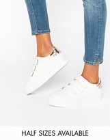 Asos DAVIUS Velcro Novelty Sneakers