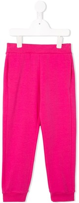 Roberto Cavalli Junior Straight Leg Track Trousers