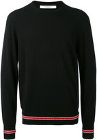 Givenchy crew neck jumper - men - Cotton/Polyester/Wool - S