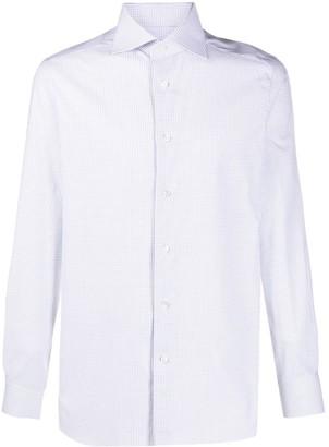 Ermenegildo Zegna Check Print Dress Shirt