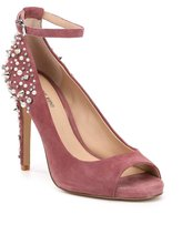 Gianni Bini Naraa Suede Studded Ankle Strap Pumps