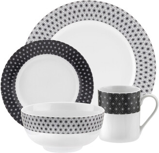 Spode Home Retrospect 16Pc Dinnerware Set