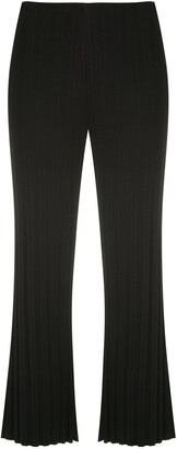 OSKLEN Ribbed Cropped Trousers
