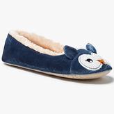 John Lewis Owl Ballet Slippers, Multi