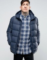 Jack Wills Lux Insulated Jacket Quilted Hooded
