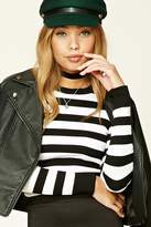 Forever 21 Ribbed Stripe Sweater