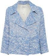 Libelula Woolhampton Jacket - Stripe Boucle - Blue and Cream