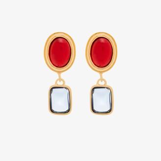 MONDO MONDO Gold-plated Jelly drop earrings