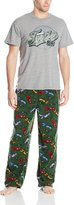 Briefly Stated Men's TMNT 84 Microfleece Pajama Set