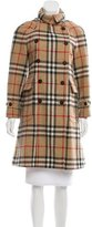 Burberry Nova Check Wool Coat