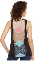 Roper 1133 Poly Rayon Knit Loose Fit Tank Top Women's Sleeveless