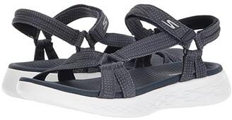Skechers Performance On-The-Go 600 - Brilliancy (Navy) Women's Sandals