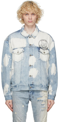 Ksubi Blue Denim Oh G Oktane Jacket