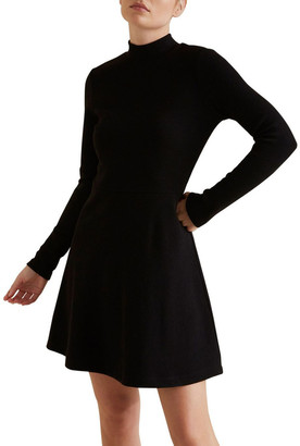 Seed Heritage Fit & Flare Rib Dress