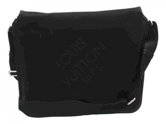 Louis Vuitton Black Cloth Bags