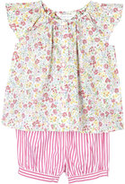 Ralph Lauren Floral cotton top and shorts set 3-24 months