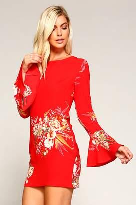 Racine Celestial Floral Dress