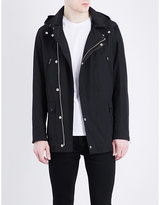 The Kooples Leather-trim Parka Jacket