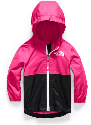 The North Face Girl's Zipline Two-Tone Rain Jacket, Size 6-24 Months