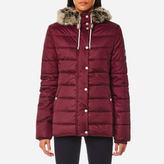 Barbour Women's Shipper Quilt Coat Carmine