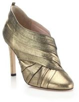 Sarah Jessica Parker Echo Metallic Leather Booties