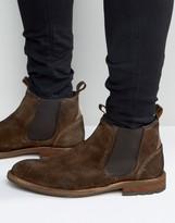 Aldo Andreae Suede Chelsea Boots