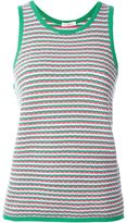 P.A.R.O.S.H. patterned tank top - women - Cotton/Spandex/Elastane - S