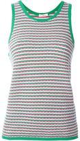 P.A.R.O.S.H. patterned tank top - women - Cotton/Spandex/Elastane - XS